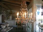 Cottage Home Furniture | Wrought Iron Chandeliers  Sconces